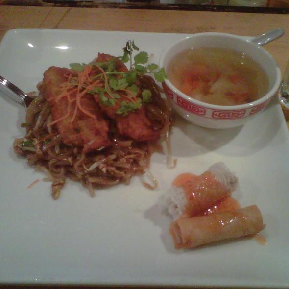 Crispy Flounder w/ Spicy Rice Noodles @ Noodle Bar