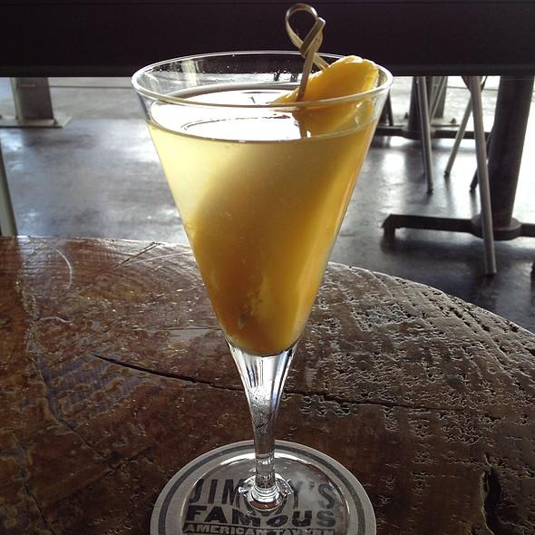 Mango Martini - Jimmy's Famous American Tavern, San Diego, CA