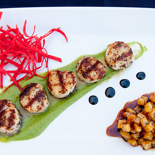 Grilled Scallops @ Signature Grill at the JW Marriott Starr Pass Resort & Spa