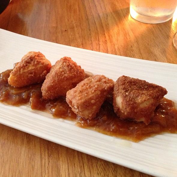 Crispy Brie, Peach Onion Chutney - Bluegrass Tavern, Baltimore, MD