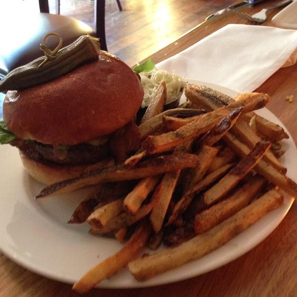 Cox Farms Dry Aged Burger - Bluegrass Tavern, Baltimore, MD