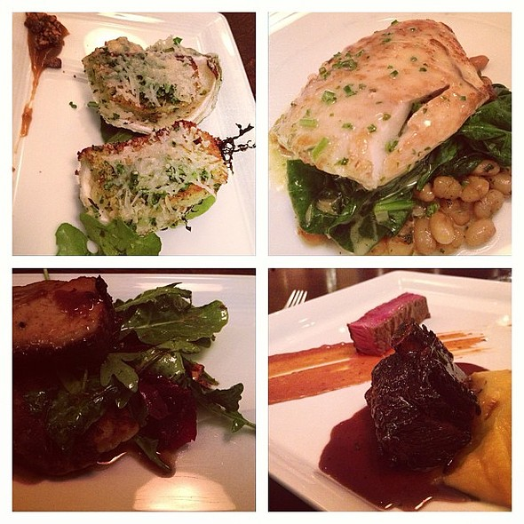 Dear Chef Gordon @lot30resto. Thx for this great dinner & the dance. rocks @ Lot 30