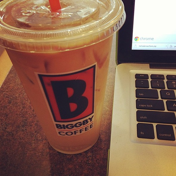 Almond Blizzard @ Biggby Coffee