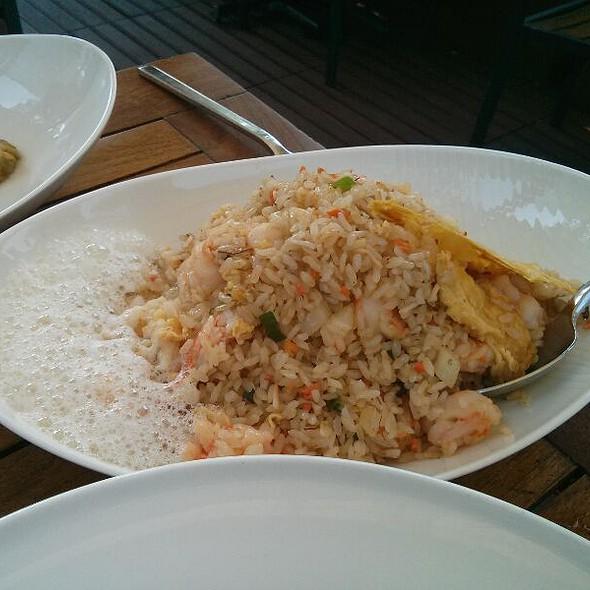 Shrimp Pilaf w/ Pineapple Foam  @ Toku