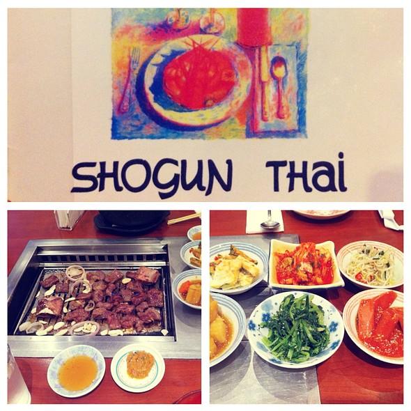Shogun korean thai and japanese restaurant menu deira - Shogun japanese cuisine ...