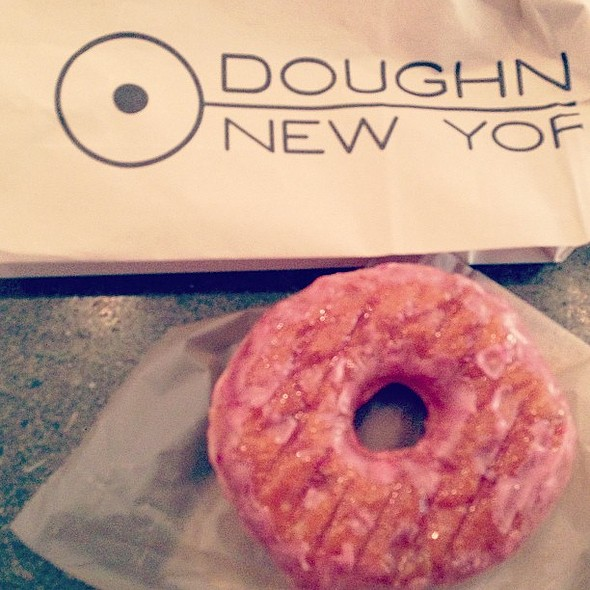 Naturally, deliciously strawberry. @doughnutplantny @ Doughnut Plant