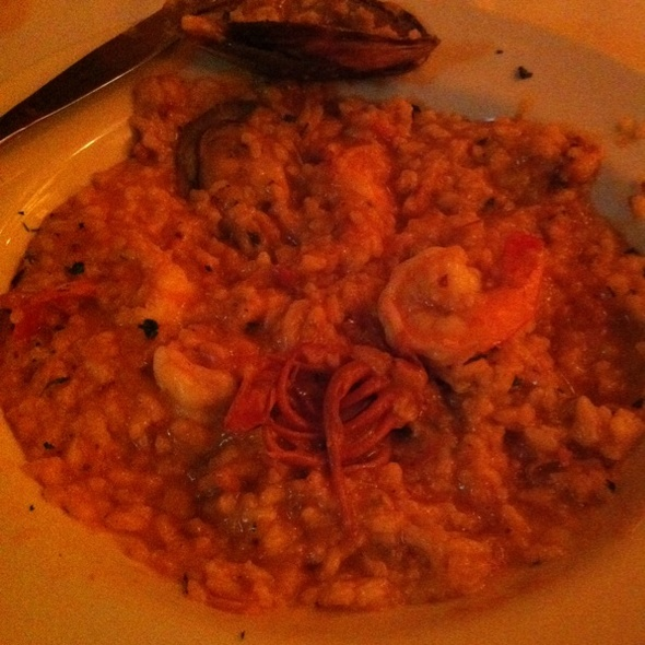 risotto de frutos do mar @ Cantina San Marco