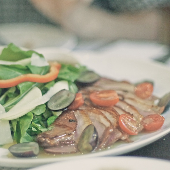 Smoked Duck Breast Salad