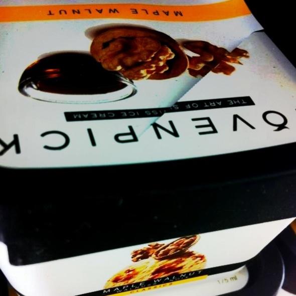 Maple Walnut Ice Cream @ Au Bon Pain - Samitivej Srinakarin