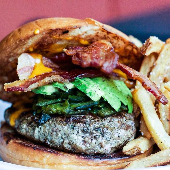 Bacon Avocado Burger @ 24 Diner