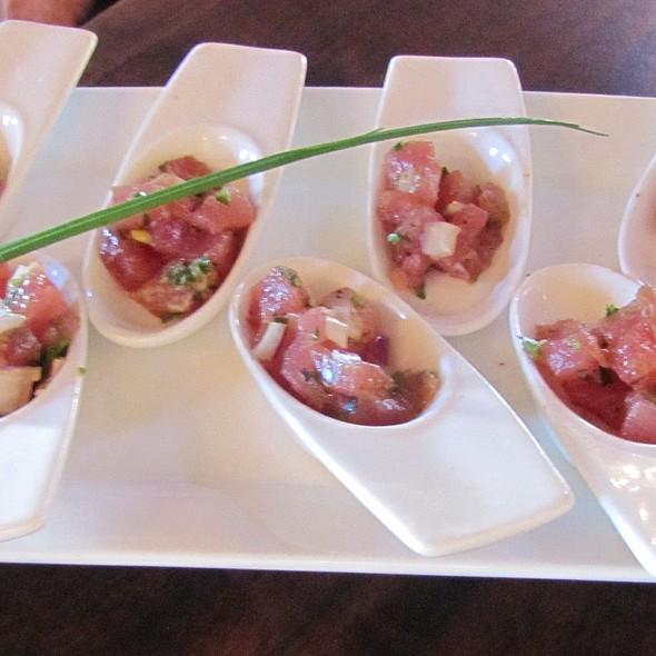 Ahi Tuna Tartare - Grasing's, Carmel, CA