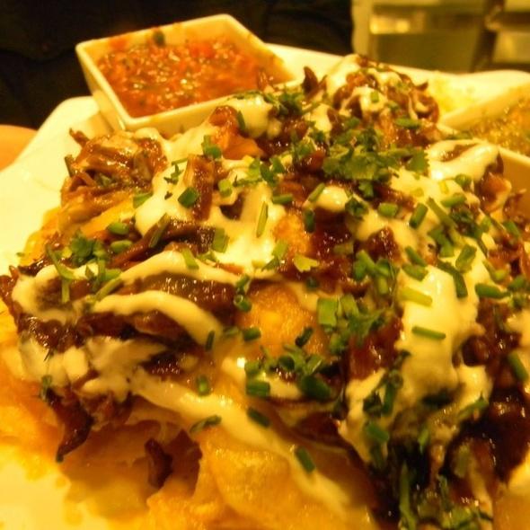 Holy $#%! BBQ Shortrib Nachos - WiseGuys Steak & Lounge, Hilton Head Island, SC