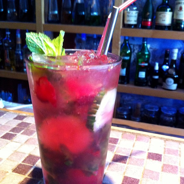 Cranberry Cucumber Mojito