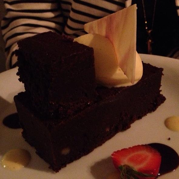 Chocolate Torte, Vanilla Bourbon Gelato