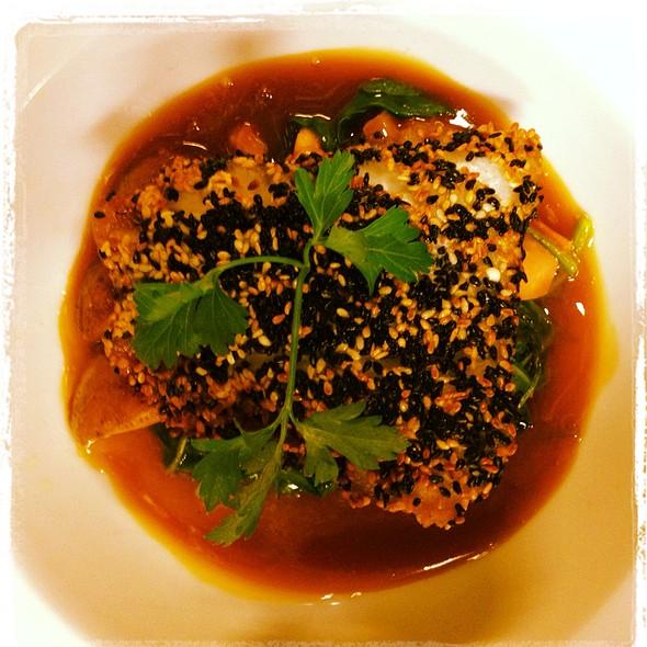 Sesame Crusted Golden Tile - Castalia 997 Restaurant & Lounge, Woodland Park, NJ