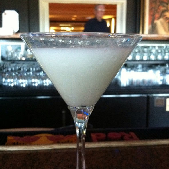 Key Lime Pie Martini - 19 Kitchen & Bar - Harvey's Lake Tahoe, Stateline, NV