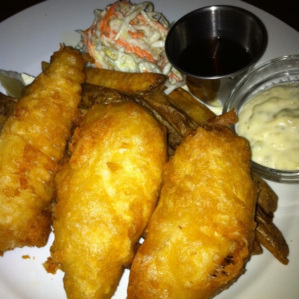 Fish and Chips @ The Cask Republic