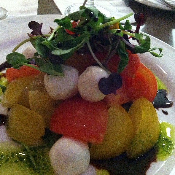 Tomato Caprese Salad @ The Westin Harbour Castle