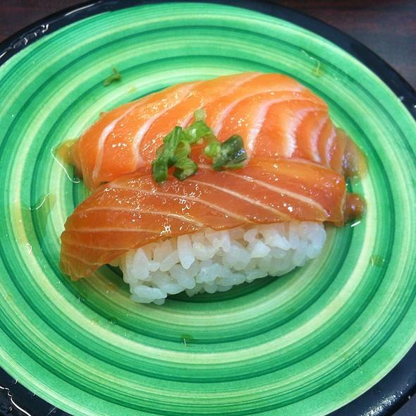 Soy Sake Salmon Nigiri