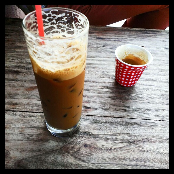 Vietnamese Ice Coffee @ Great Aunty Three