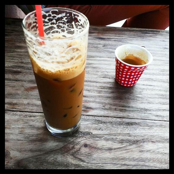 Vietnamese Ice Coffee @ Great Aunty Three
