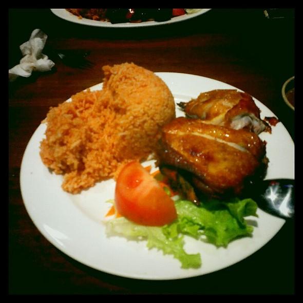 Crispy Skin Chicken @ Oscars Hotels