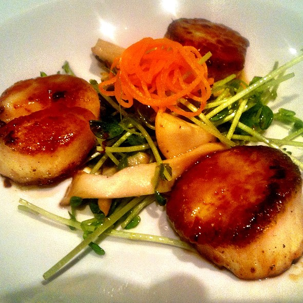 Seared Miso Scallops - Pagoda Floating Restaurant, Honolulu, HI