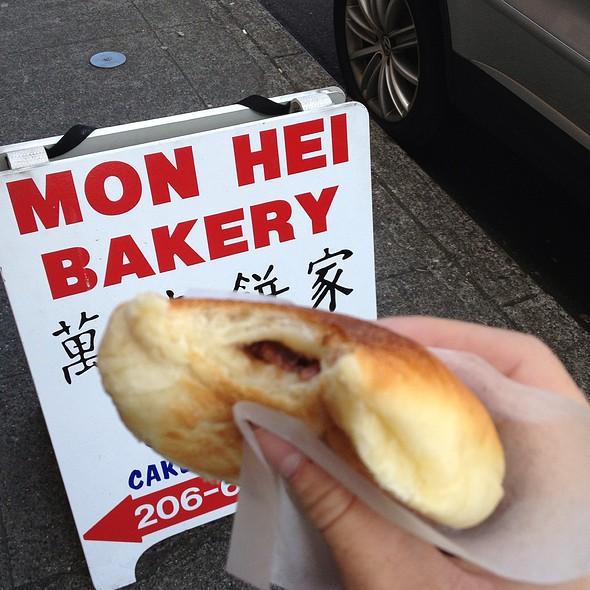 Bbq Pork Bun @ Mon Hei Chinese Bakery
