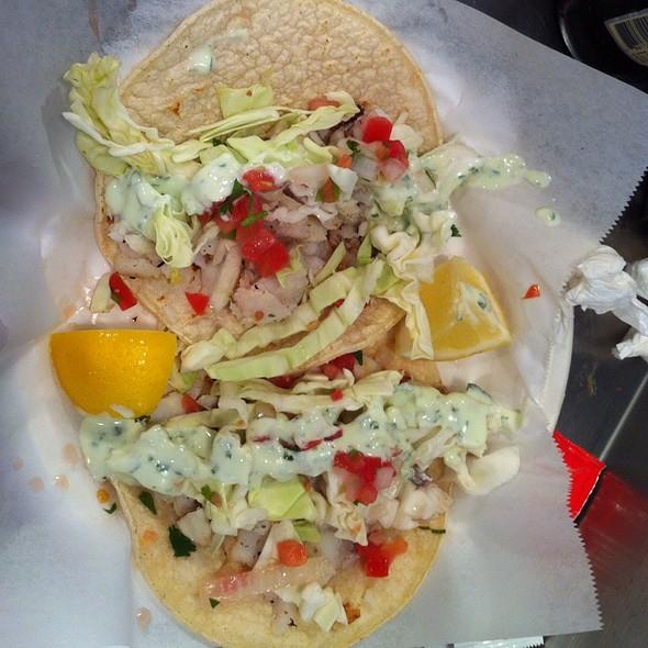 fish tacos @ Jack's Fish Spot