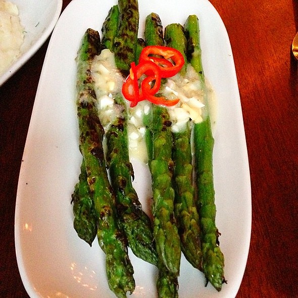 Roasted Asparagus @ Paragon Restaurant & Bar