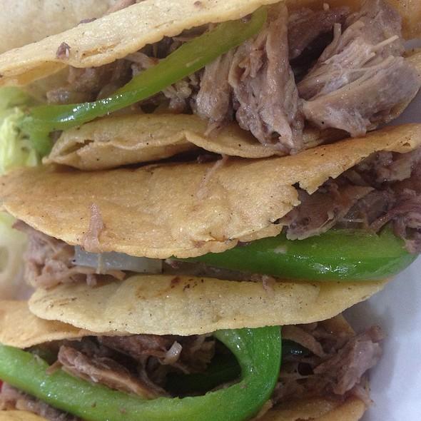 Tacos De Cabrit