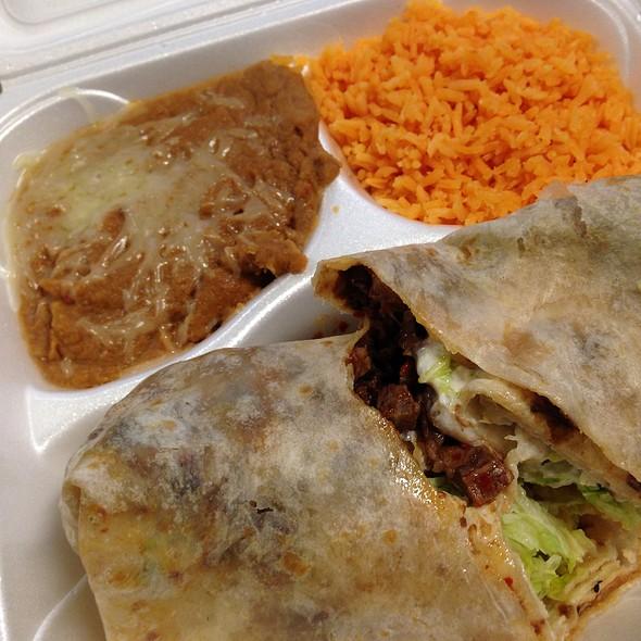 Barbacoa Burrito @ Taqueria Los Comales