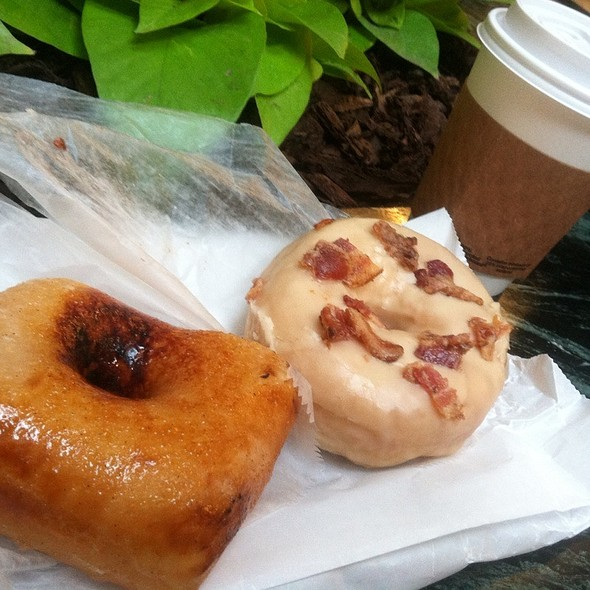 Creme Brulee And Maple Bacon @ Astro Doughnuts & Fried Chicken