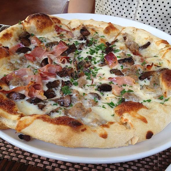 Pork Sausage And Speck Pizza @ Osteria Coppa