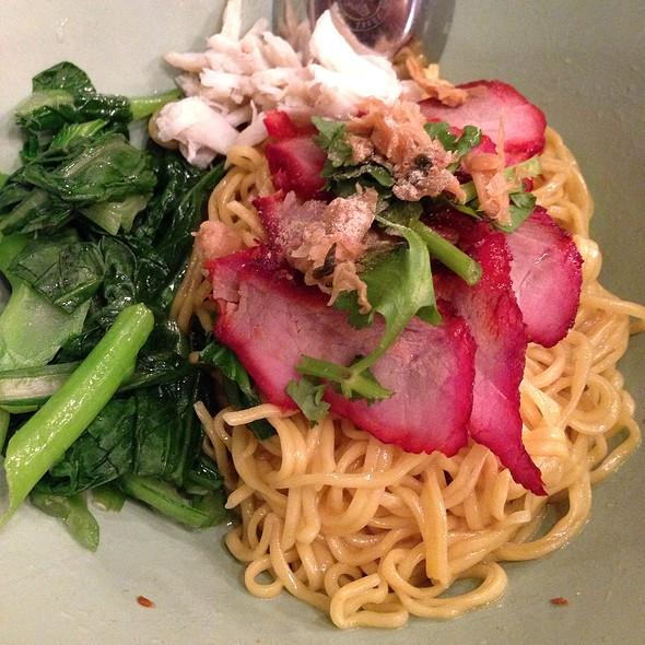 Ratchaburi Crab & Pork Dry Noodle @ Pure Thai Shophouse
