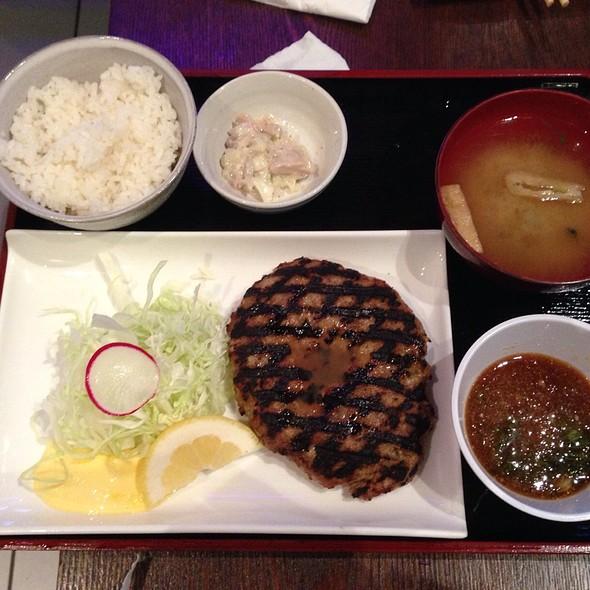 Japanese Style Hamberger Steak @ Geko-Tei Japanese Kitchen