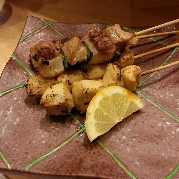 Grilled Abalone and Mirugai Kushiyaki @ Yohei Sushi Restaurant