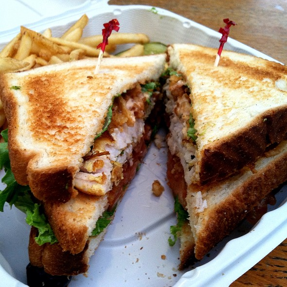 Ultimate Yacht Clubhouse Triple Decker Sandwich