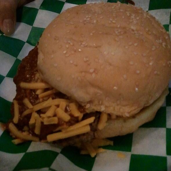 Chili Cheese Burger @ Tookie's Burgers