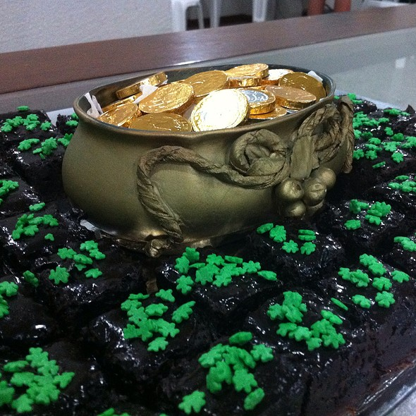 St. Patrick's Brownies @ Despedida Do Julio
