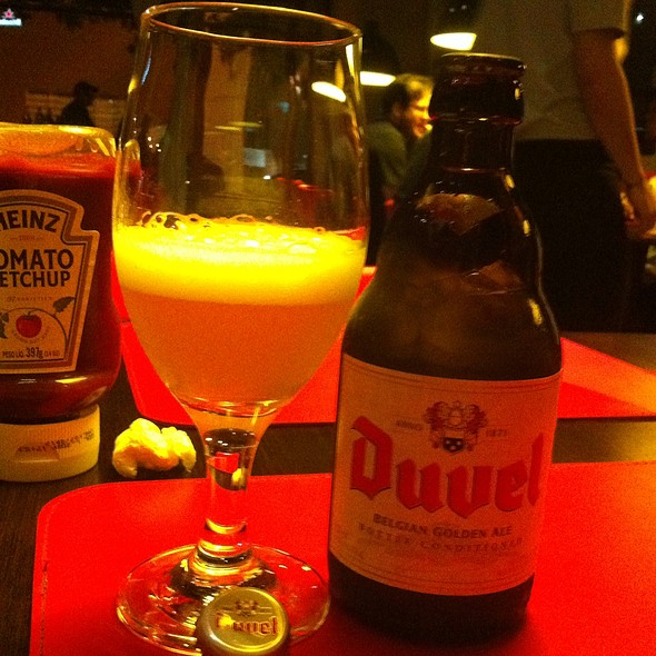 Duvel Golden Ale @ Meatpacking NY Prime Burguers
