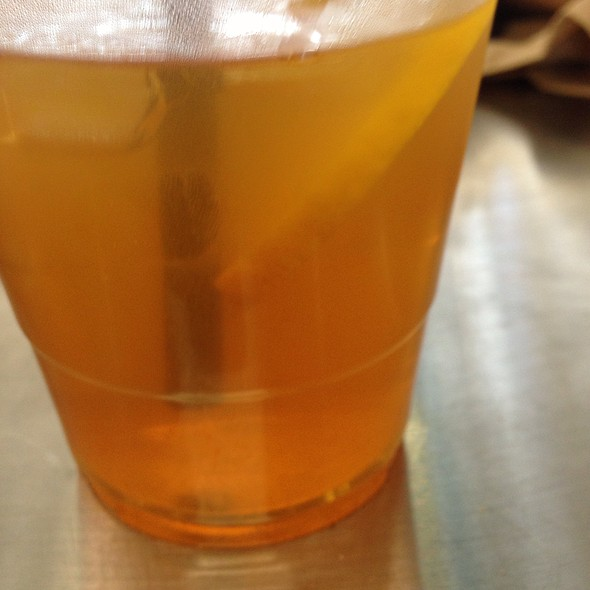 Sweet Tea @ RE-UP BBQ at RIVER MARKET