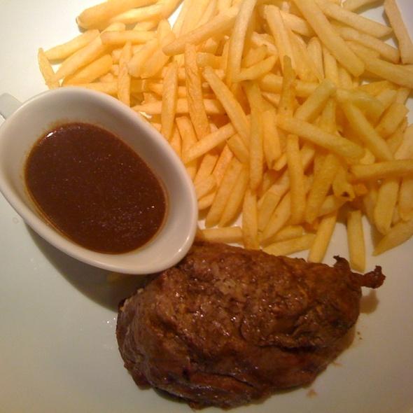 Steak-Frites @ Felice Terrazza