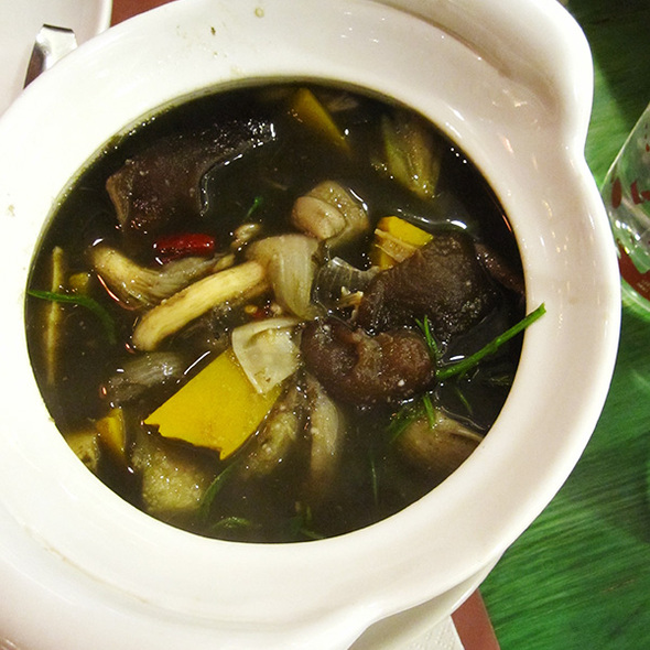 North Eastern Style Bamboo Shoot Soup @ Kum Poon (Central Pinklao)