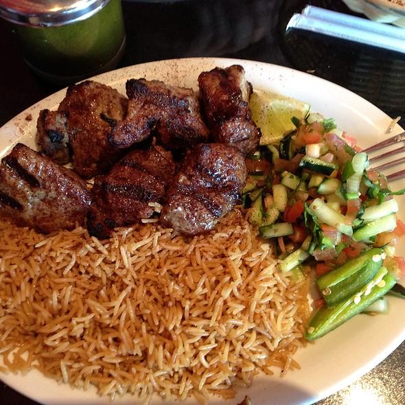 Lamb Kabobs @ De Afghanan