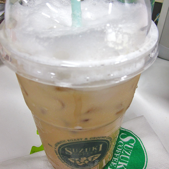 Iced Latte @ Suzuki Coffee