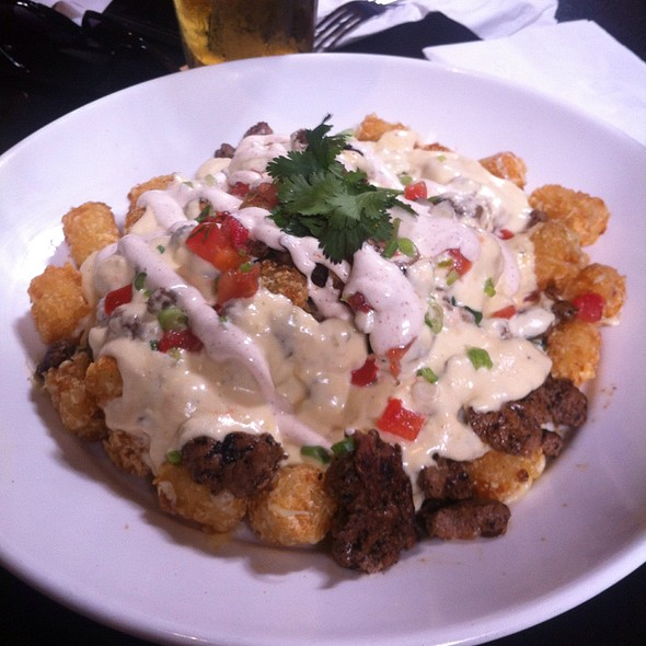 Loaded Carne Asada Tots @ True North Tavern