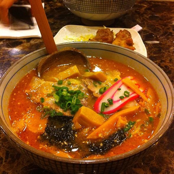tan tan ramen @ Daiichi Ramen & Curry