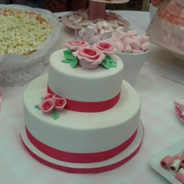 Fondant Covered Cake @ Private location