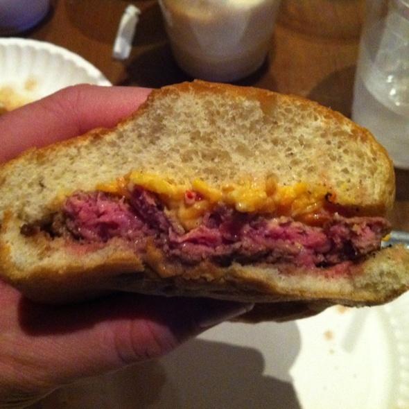 Pimento Cheese Burger @ Rub BBQ Restaurant